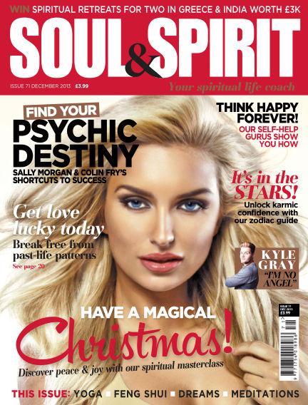 Soul & Spirit December 01, 2013 00:00