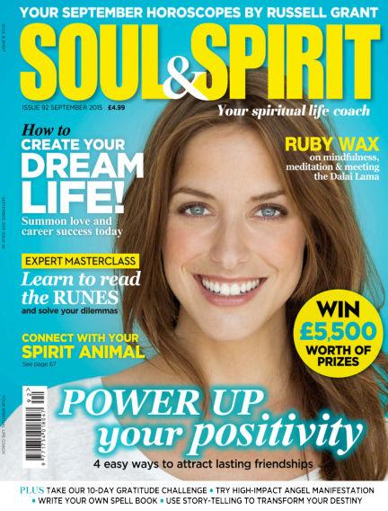 Soul & Spirit August 21, 2015 00:00