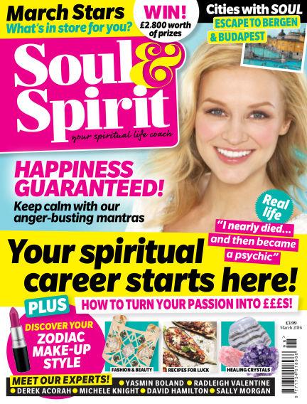 Soul & Spirit February 19, 2016 00:00