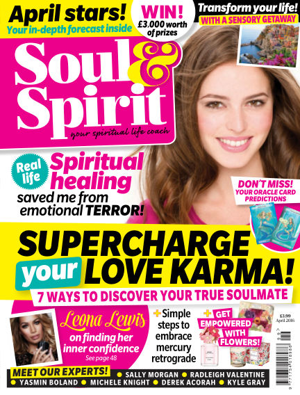 Soul & Spirit March 18, 2016 00:00