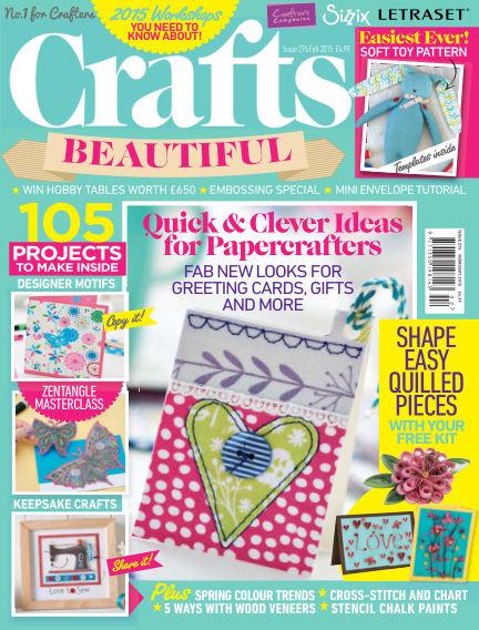 Crafts Beautiful January 09, 2015 00:00