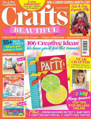 Crafts Beautiful July 2015