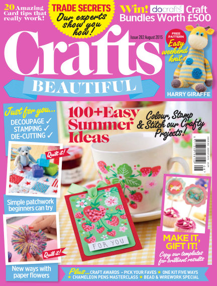 Crafts Beautiful June 26, 2015 00:00