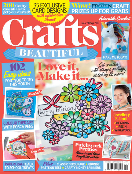 Crafts Beautiful July 24, 2015 00:00