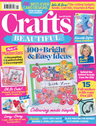 Crafts Beautiful February 2016