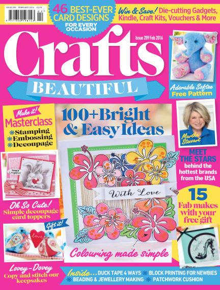 Crafts Beautiful January 08, 2016 00:00