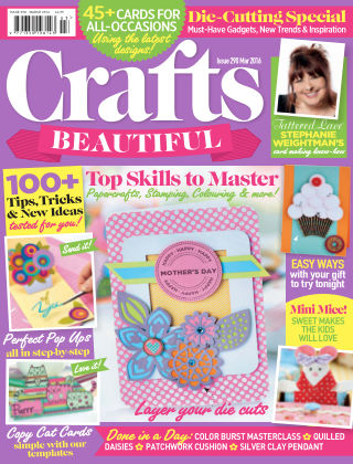 Crafts Beautiful March 2016