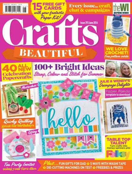 Crafts Beautiful April 29, 2016 00:00