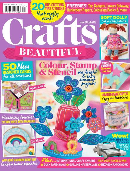 Crafts Beautiful May 27, 2016 00:00