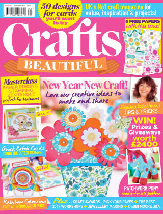 Crafts Beautiful January 2017