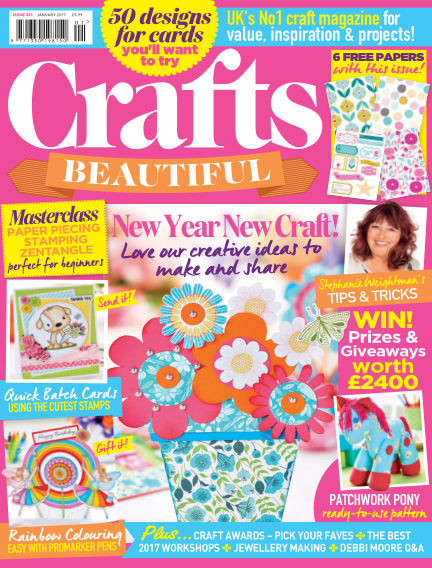 Crafts Beautiful December 09, 2016 00:00