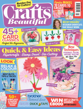 Crafts Beautiful May 2018