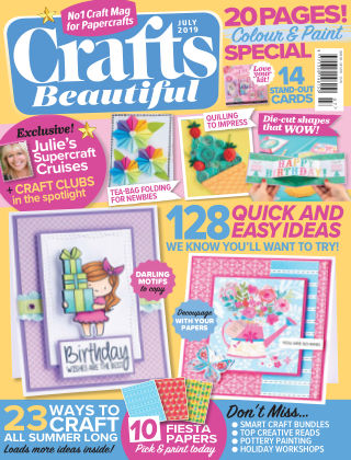 Crafts Beautiful July2019