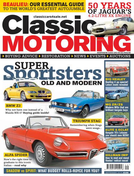 Classic Motoring August 01, 2014 00:00
