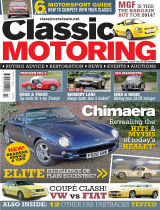 Classic Motoring March 2014