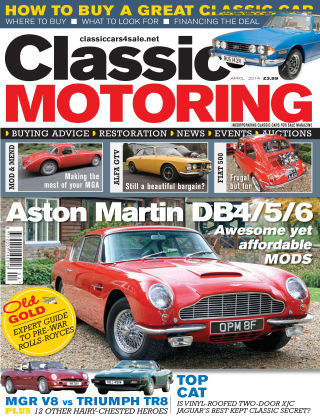 Classic Motoring April 2014