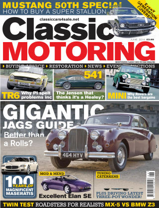 Classic Motoring June 2014