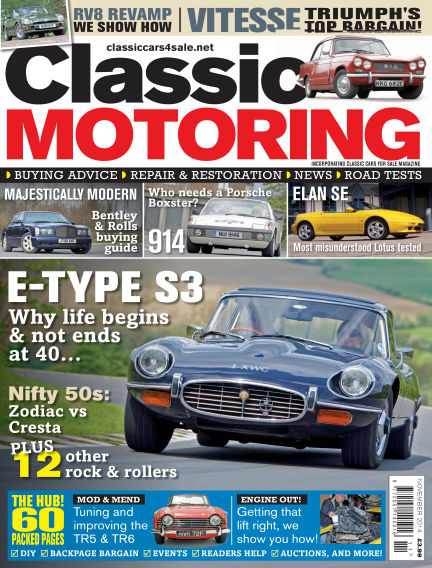 Classic Motoring October 03, 2014 00:00