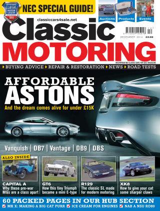 Classic Motoring December 2014