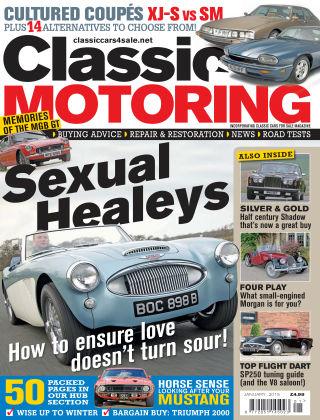 Classic Motoring January 2015