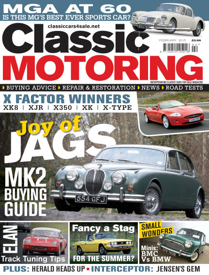 Classic Motoring January 09, 2015 00:00