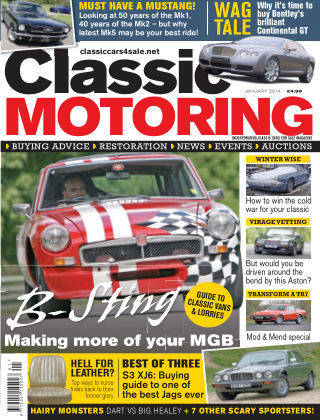 Classic Motoring January 2014