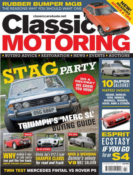 Classic Motoring January 03, 2014 00:00