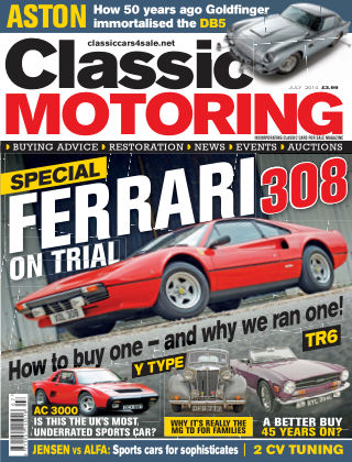 Classic Motoring July 2014