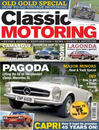 Classic Motoring August 2014