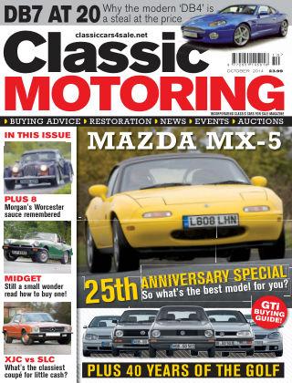 Classic Motoring October 2014