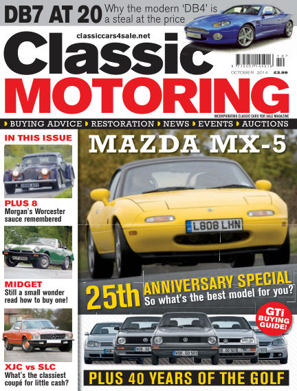 Classic Motoring September 05, 2014 00:00