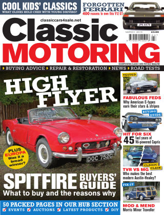 Classic Motoring March 2015