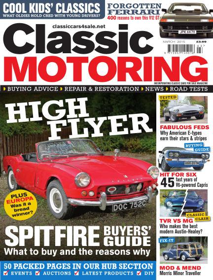 Classic Motoring February 06, 2015 00:00