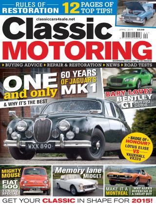 Classic Motoring April 2015