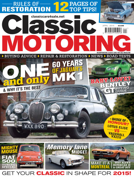 Classic Motoring March 06, 2015 00:00