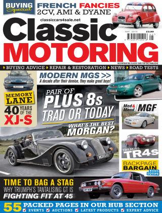 Classic Motoring May 2015