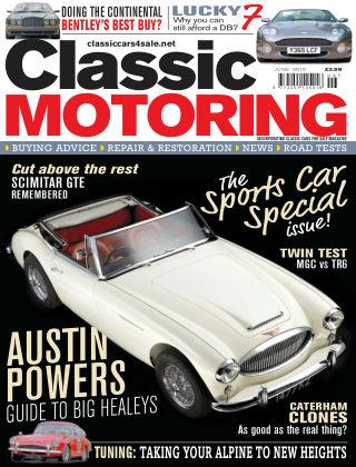 Classic Motoring June 2015