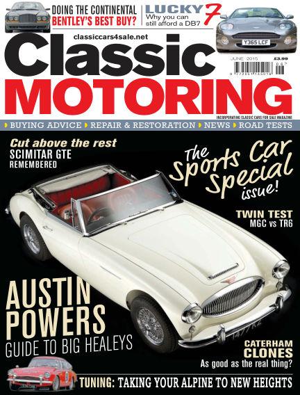 Classic Motoring May 01, 2015 00:00