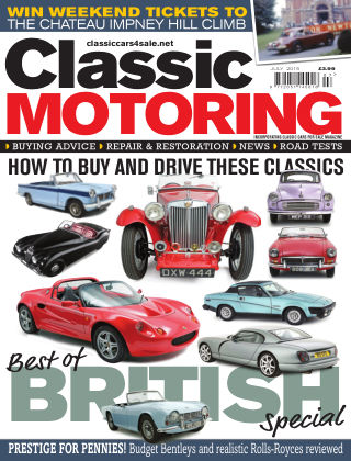 Classic Motoring July 2015