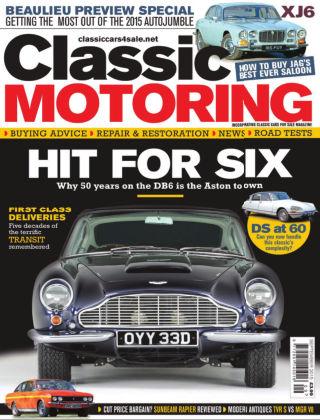 Classic Motoring September 2015