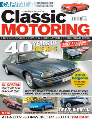 Classic Motoring October 2015