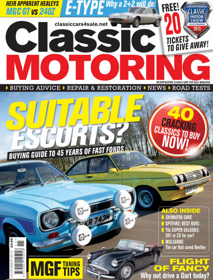 Classic Motoring October 02, 2015 00:00