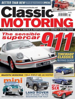 Classic Motoring March 2016