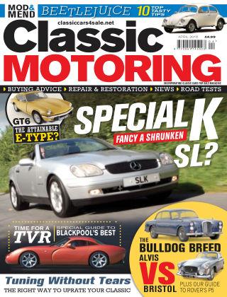 Classic Motoring April 2016