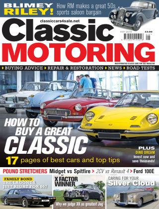 Classic Motoring May 2016