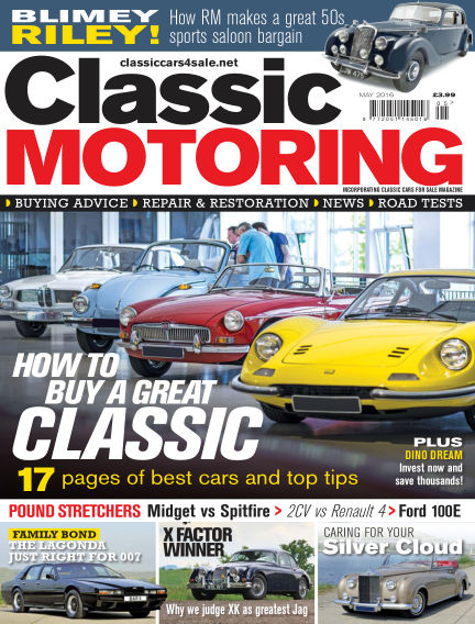 Classic Motoring April 01, 2016 00:00