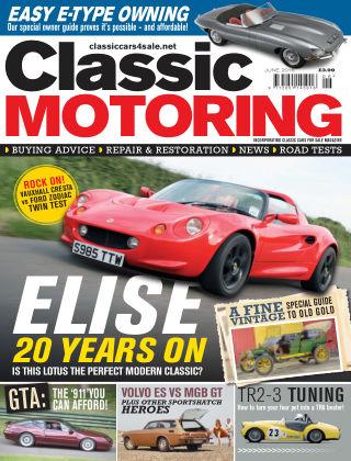 Classic Motoring June 2016