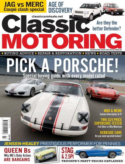 Classic Motoring June 03, 2016 00:00