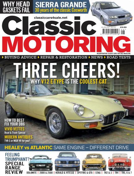 Classic Motoring July 01, 2016 00:00