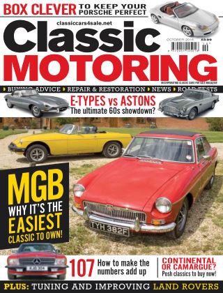 Classic Motoring October 2016